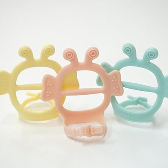 Mama's TEM JemJem Glove Premium Teether + Bunny Case