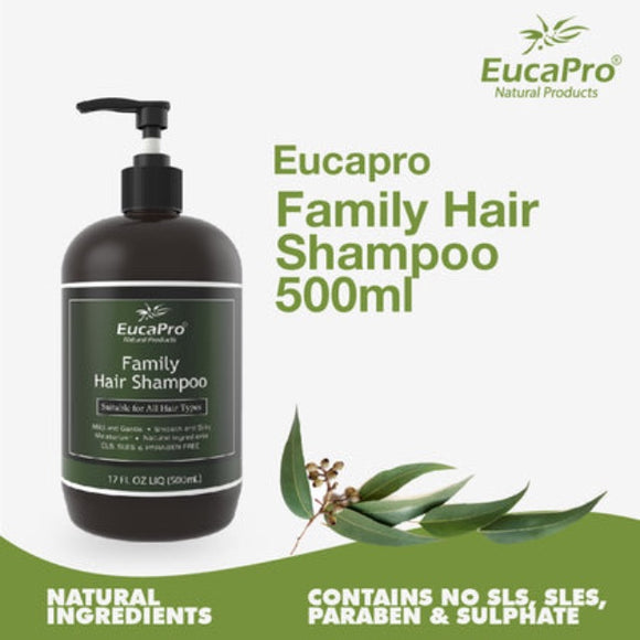 Eucapro Hair Shampoo (500ml)