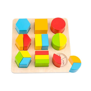 Tooky Toy Block Puzzle (SHAPES)