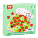 Tooky Toy Memory Game Lady Bug