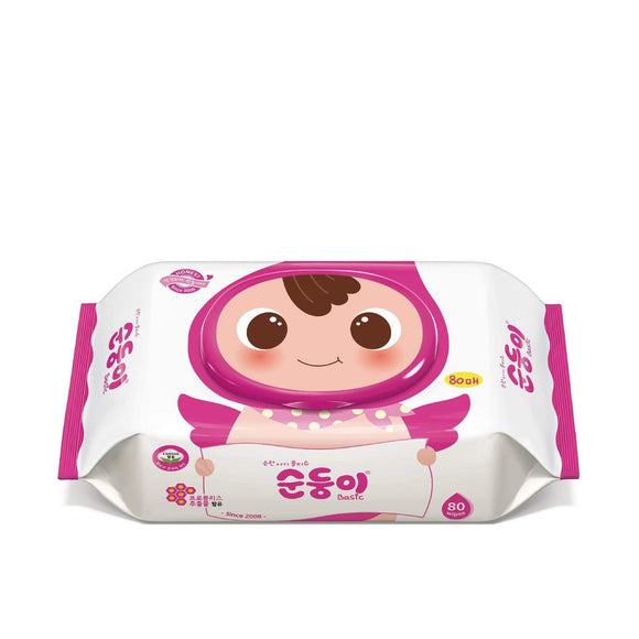 Soondoongi Basic Baby Wipes Plain & Scented (80s)