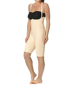 ABOVE KNEE COMPRESSION GARMENT W/ SUSPENDERS