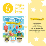 Ditty Bird Musical Book - Learning Songs