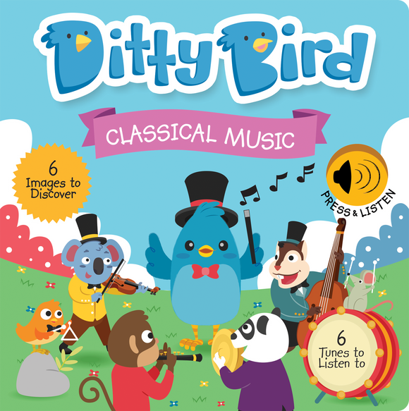 DITTY BIRD MUSICAL BOOK- CLASSICAL MUSIC