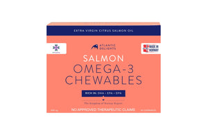 Antlantic Delight Salmon Omega-3 Chewables (30 capsules)