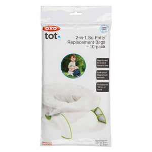 OXO Tot 2-In-1 Go Potty Replacement Bags – 10 Pack