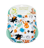 Baby Leaf One Size Pocket Cloth Diaper
