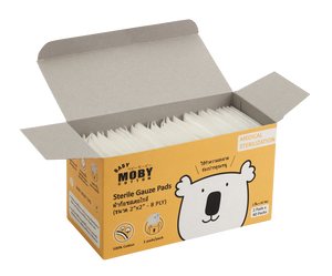 Moby Baby Sterile Gauze Pads