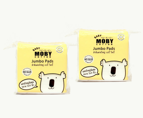 Moby Baby Jumbo Cotton Pads