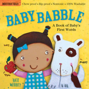 Indestructibles Book: Baby Babble