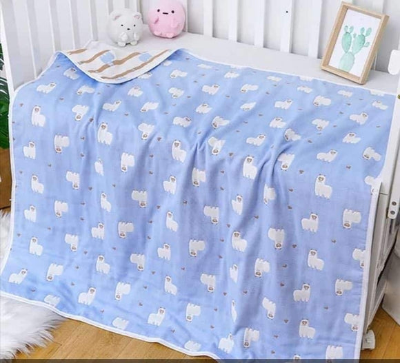 Swaddies Reversible Muslin Blanket