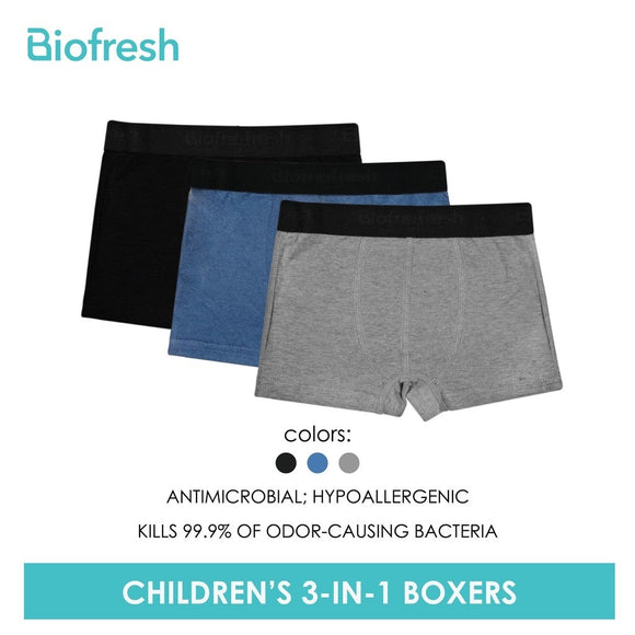 Biofresh Antimicrobial Hypoallergenic Boxer Briefs
