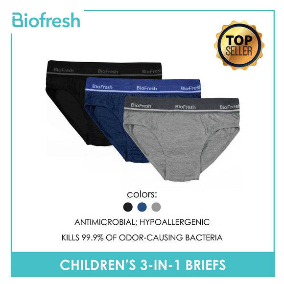 Biofresh Antimicrobial Hypoallergenic Briefs (Assorted Color)