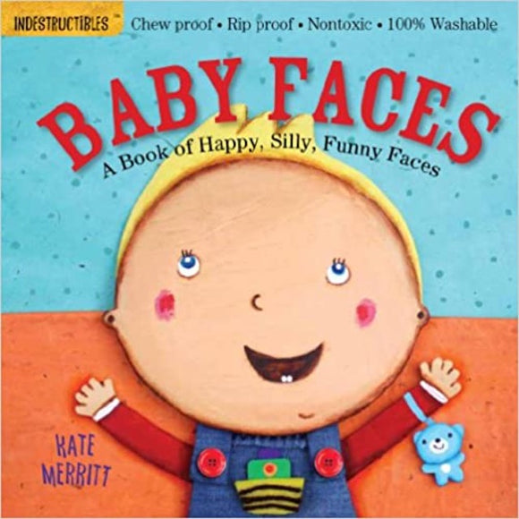 Indestructibles Book: Baby Faces