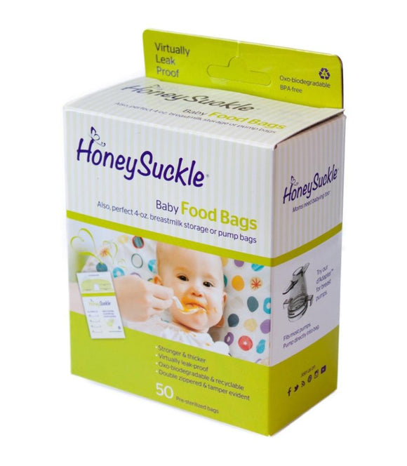 Honeysuckle Breastpump Bags 4 oz