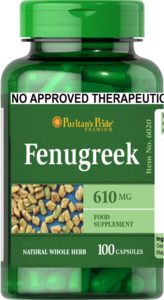 Fenugreek 610 mg 100 capsules
