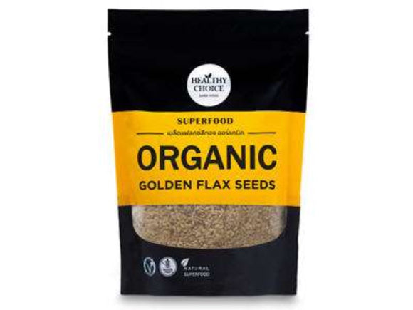 Healthy Choice Organic Golden Flaxseeds