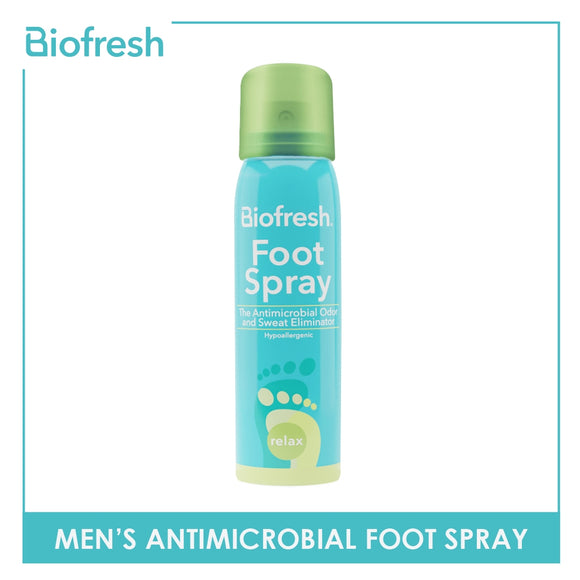 Biofresh Men's Antimicrobial Foot Spray