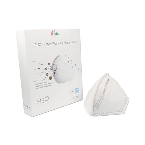 MEO Kids Helix Filter (Pack of 3)  (Arrives First Week of February)