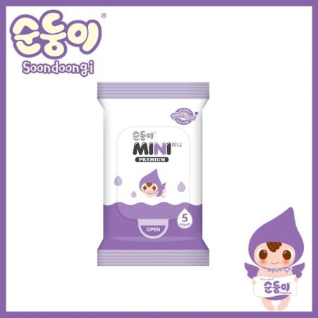 Soondoongi Premium Scented Wipes Mini