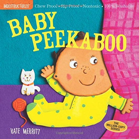 Indestructibles Book: Baby Peekaboo