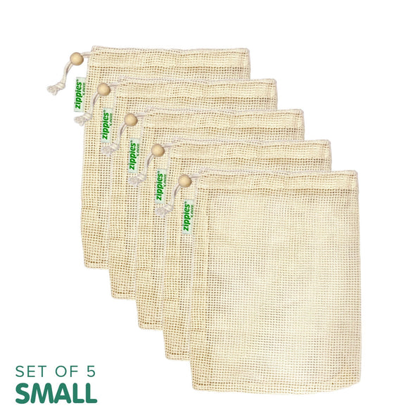 Zippies Cotton Mesh Produce Bags