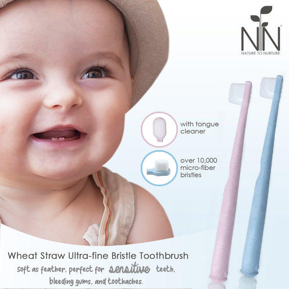 Nature to Nurture Wheat Straw Ultra-fine Bristle Toothbrush 0-6 yrs old