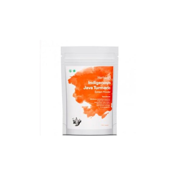 Herbilogy Indigenous Java Turmeric Extract Powder (Temulawak)
