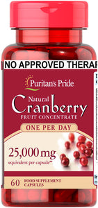 Cranberry 25,000mg 60 capsules