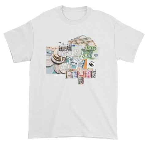 Forever In Profit Currencies Short Sleeve Tee - White