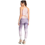 VESTEM LILAC FLOWERS SUBLIMATED LEGGINGS, Women - Apparel - Activewear - Leggings - Haute Companie