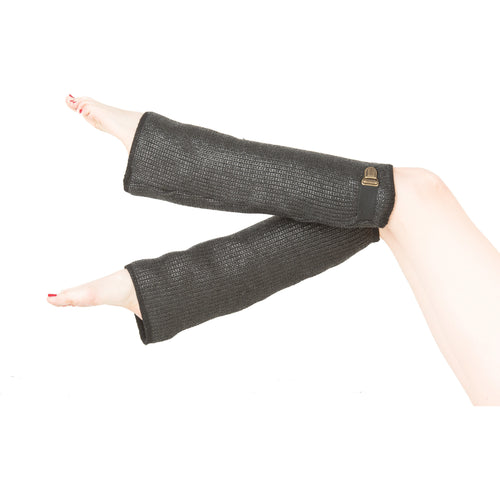 EON PARIS COATED WOOL LEG WARMERS, Women - Accessories - Leg Warmers - Haute Companie