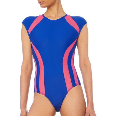 TOGETHER CALIFORNIA GINGER JUICE ONE PIECE SWIMSUIT