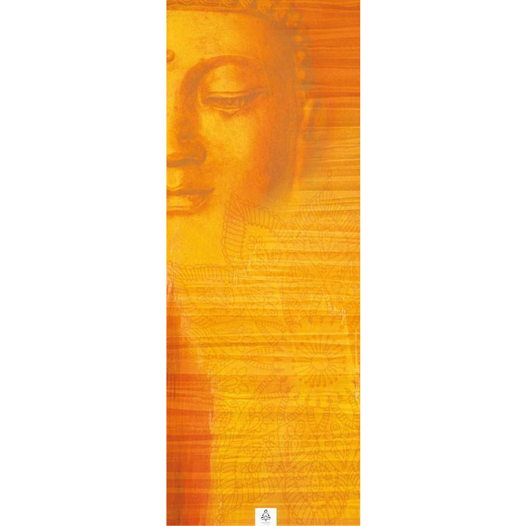 ZEN LIFE PEACEFUL BUDDHA YOGA TOWEL MAT SIZE