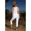 LUMINOUS BEING YOGA LEGGINGS ARCHER CAPRI PANTS