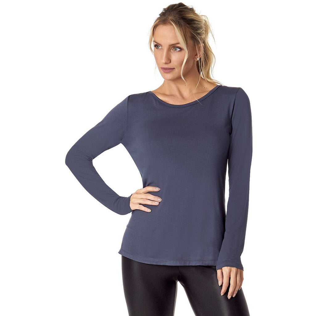 VESTEM 153 GALLON GREY LONG SLEEVE SHIRT