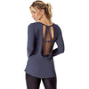 VESTEM 153 GALLON GREY LONG SLEEVE SHIRT, Tops & Blouses - Haute Companie