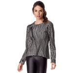 VESTEM 169 FABULOUS PRINTED LONG SLEEVE TOP, Tops & Blouses - Haute Companie