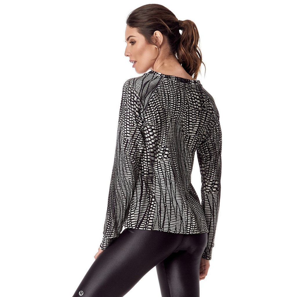 VESTEM 169 FABULOUS PRINTED LONG SLEEVE TOP