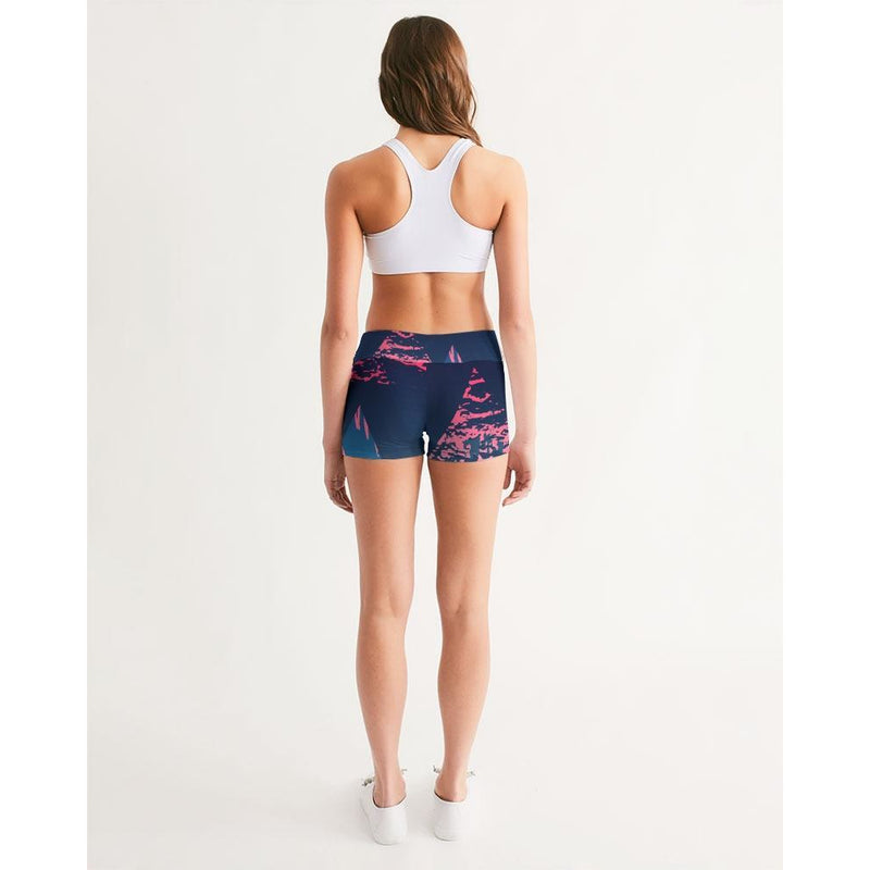 FIND YOUR COAST ACTIVE COMFORT VICTORY MID-RISE YOGA SHORTS, Women - Apparel - Activewear - Leggings - Haute Companie