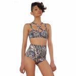MIRAME HIGH WAISTED SWIMSUIT BOTTOMS