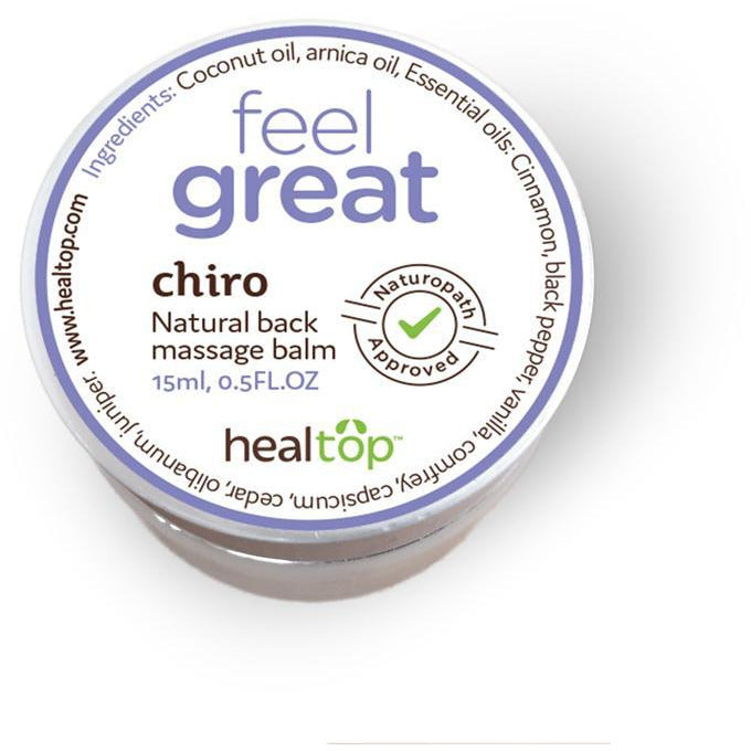 HEALTOP WELLNESS CHIRO NATURAL BACK MASSAGE BALM, Beauty - Men's - Bath & Body - Haute Companie