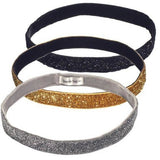 SPARKLE SOLID WIDE HEADBAND, Headbands - Haute Companie