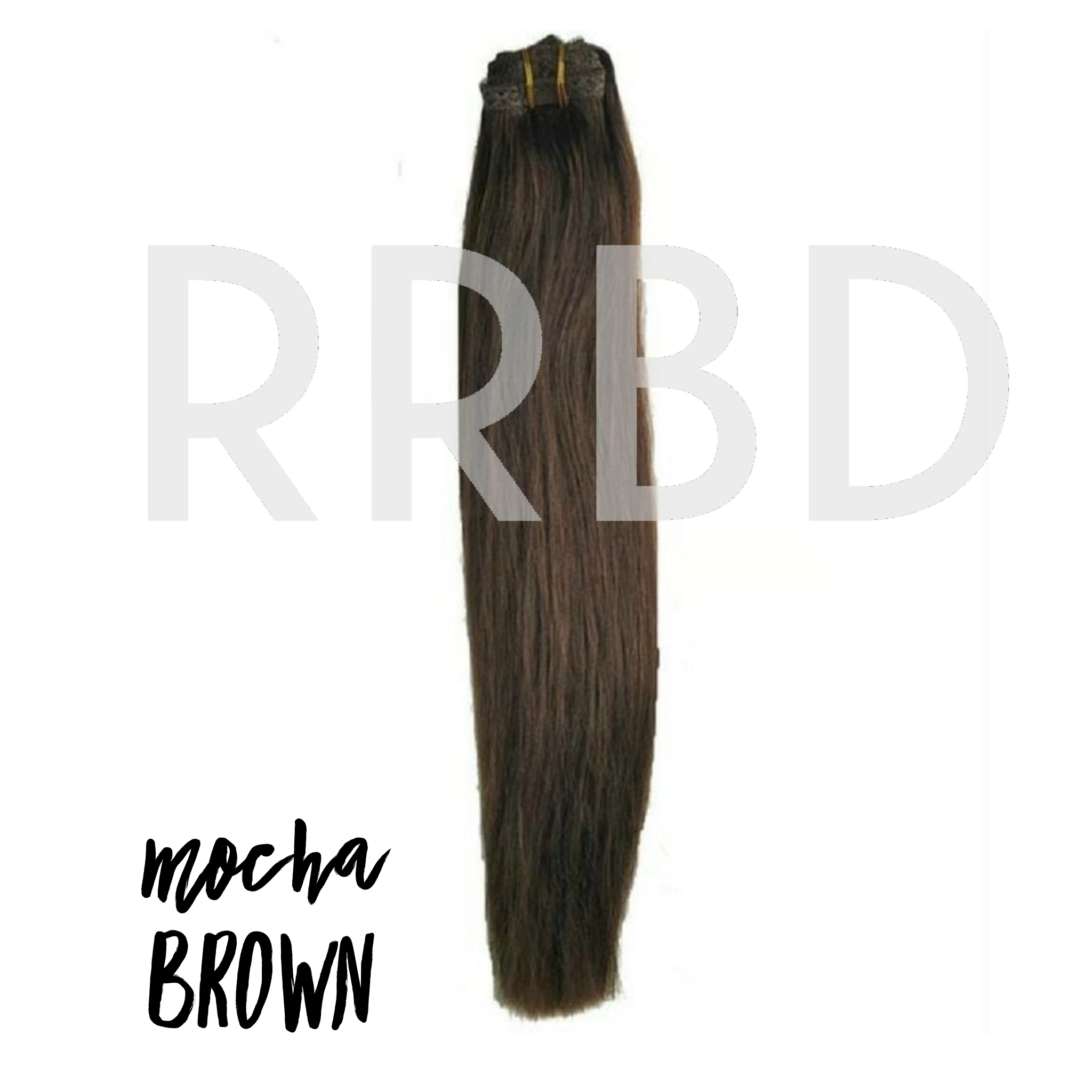 Mocha Brown Hair Extensions Rr Beautee Designs