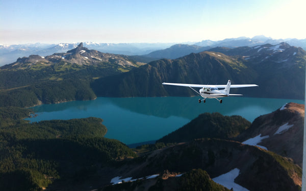 Flying over Garibaldi Provincial Park will take your breath away