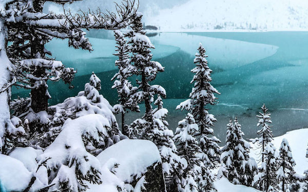 Escape to Joffre Lakes this Winter