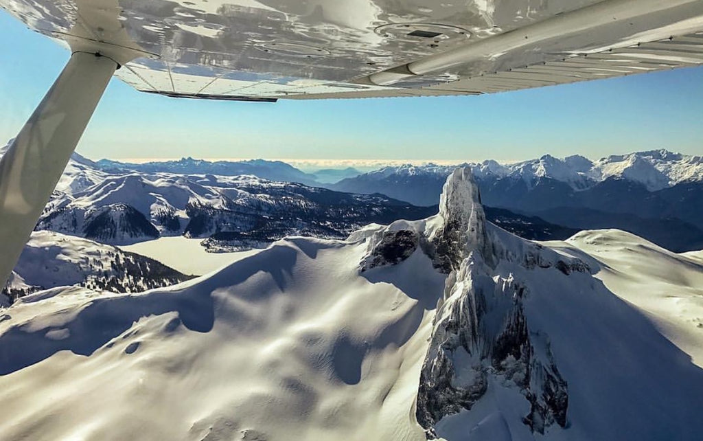 Black Tusk | Sightseeing flight | Garibaldi Park from above | Livv Adventures