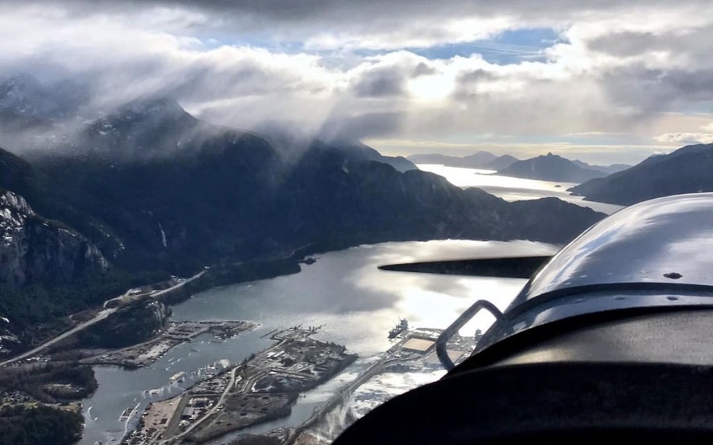 Fly over Squamish | Livv Adventures | Garibaldi Park