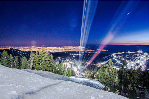 Night skiing Cypress Mountain