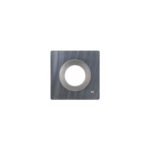 Square Carbide Insert - 15 x 15 x 2.5 mm - radius corner - Woodturning Cutter Top